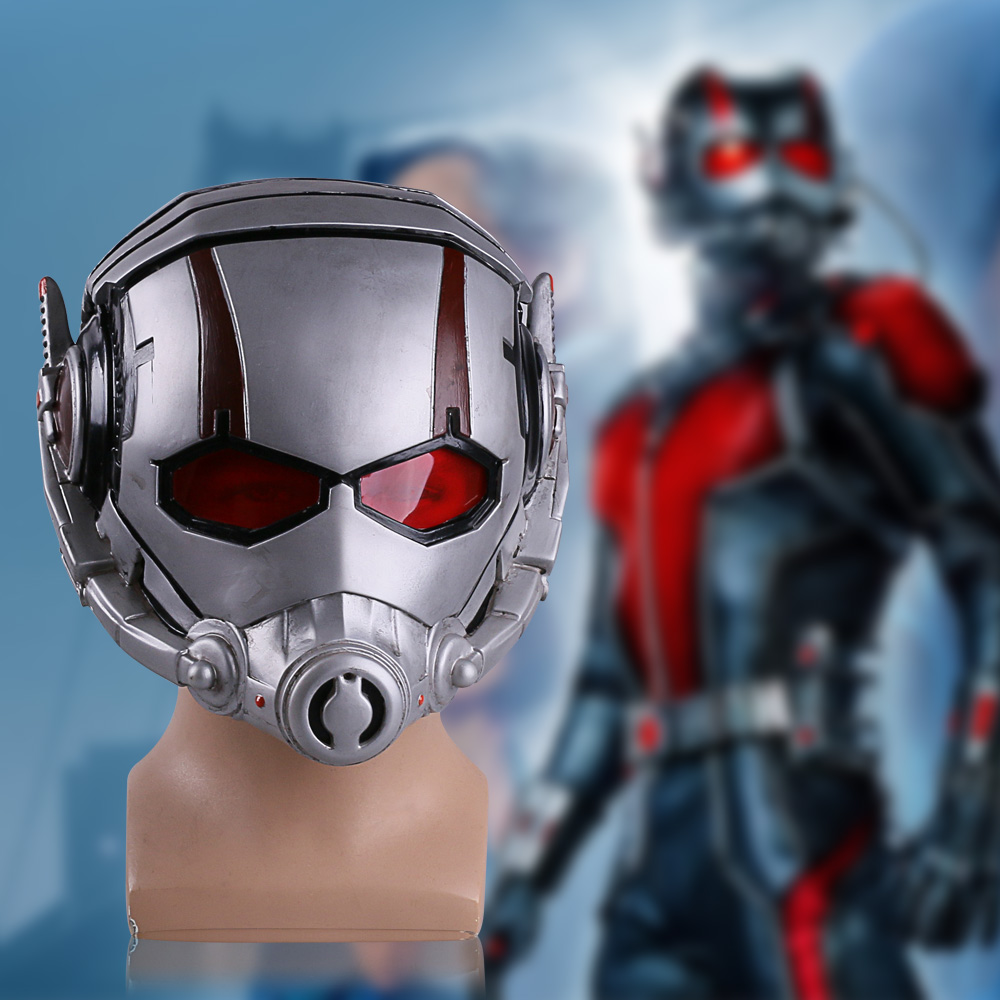 2015 Movie Cosplay Ant-Man Helmet Scott Mask Adult Men Halloween Helmet Party Cosplay Helmet