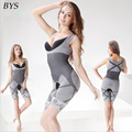 Moda Mulheres Slimming Bamboo Underbust Corset Shaper Bodysuit Bodyshaper Corset Body Briefer Emagrecimento Shapewear Cintura Cincher