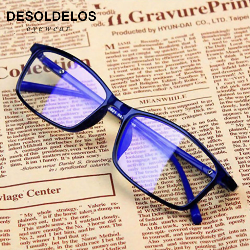 Anti Light Glasses Ray Blue Fashion Anti Blue Fatigue Protection Blocking Goggles Eye Square Radiation Computer 2019 New