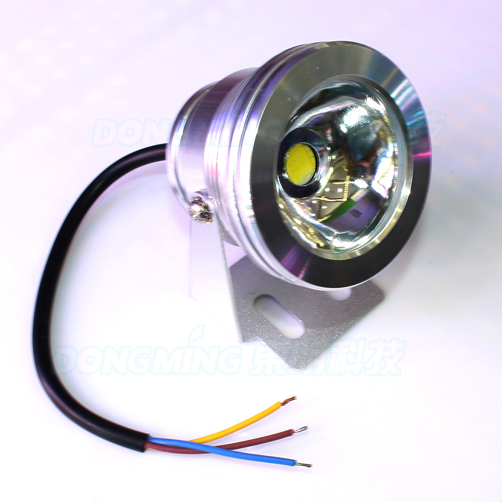 Led Lamps Underwater Light Ac 85-265v Warm White/cool White Ip68 Fountain Lighting 10w Led Pool Light Skillful Manufacture Lights & Lighting
