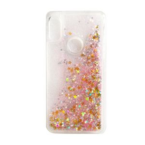 Image 2 - Huawei Y6 2019 case Huawei Y6 2019 Liquid case For Coque Huawei Y6 Prime 2019 cover Glitter Dynamic Soft TPU phone cases shell