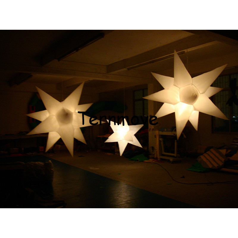 inflatable star with LED light in,can controled by remote control inflatable star model for sale event wedding decoration free shipping led light up inflatable heart shpe light inflatable lighting 2 4m for valentine s day wedding toy decoration