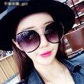 Nova Moda Personalidade Avant-garde Shades Homens Mulheres Designer de Marca Grande Quadro Óculos de Sol Acolhedor Rua Tirar Óculos Óculos UV400