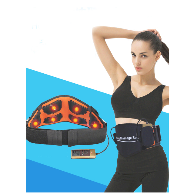 Smart Arthritis Pain Relief multi-function Massager+Infrared heating Massaging Lumbar Pain Support Weight Loss Waist Belt