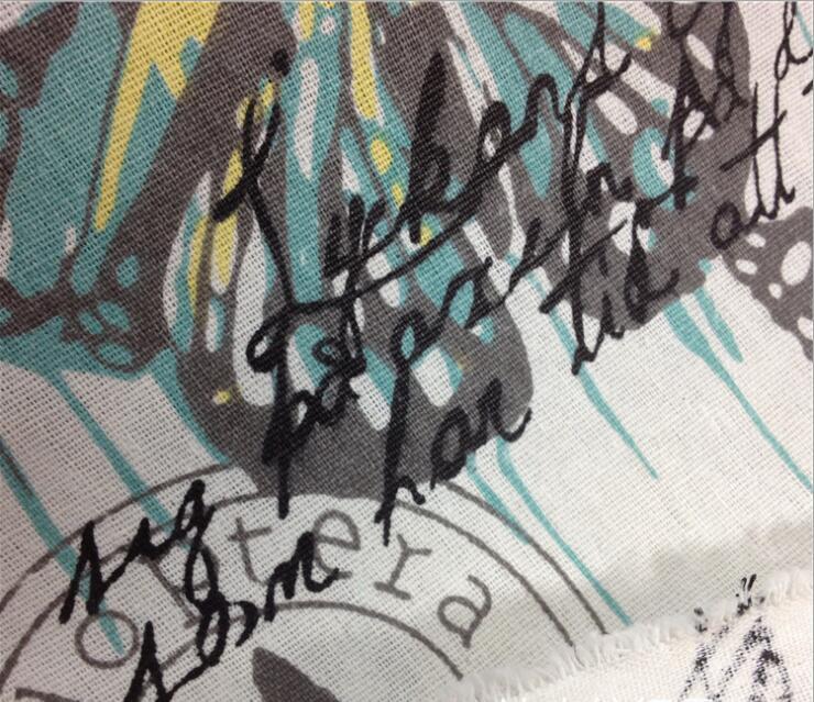 Hot 100 * 145 cm 1 farben schmetterling baumwolle und leinen - Kunst, Handwerk und Nähen - Foto 3