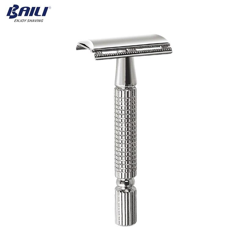 BAILI Men's Manual Classic Barber Shaving Safety Razor