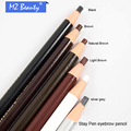 Impermeable lápiz de cejas para maquillaje permanente coloración sourcils lápiz Estereotipos pluma Fácil uso