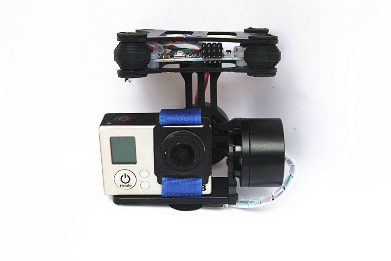 DJI Phantom Brushless Gimbal Camera Frame + 2*Motors +Controller for Gopro3 FPV RTF professional drone accesorries brushless gimbal frame 2 motors controller for dji phantom gopro 4 3 3 fpv 6a30 drop shipping