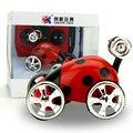 Hot Estilo Besouro Brinquedo Do Carro de Rádio 5CH 360 Graus Carro Rolo Mini Carro Elétrico de RC RC Brinquedo Carro Dublê de Controle Remoto para crianças