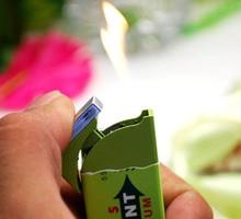 Chewing gum lighter