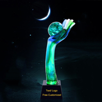 Новый дизайн первый Supreme Glory Hand World Cup Team Spirit работа топ сотрудник цветной глазурью трофей Кубок сувенир в подарок