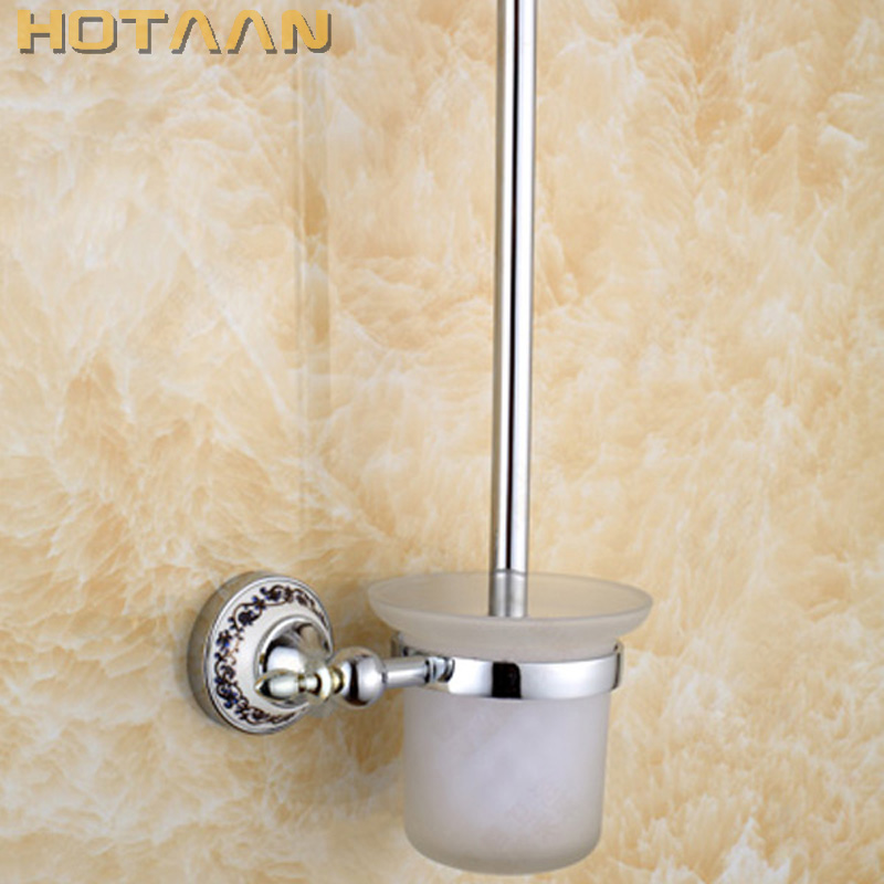 Free Shipping Toilet Brush Holder,ceramic Solid Brass Construction Base ,Bathroom accessories YT-11812Free Shipping Toilet Brush Holder,ceramic Solid Brass Construction Base ,Bathroom accessories YT-11812