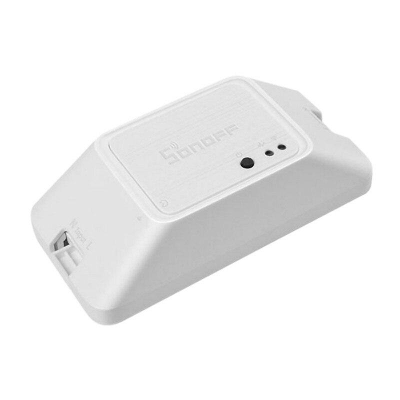 433 RF R3 умный Переключатель ВКЛ/ВЫКЛ WiFi, Поддержка приложения/433 RF/LAN/голосовой пульт дистанционного управления DIY режим работает с Alexa Google Home - 6