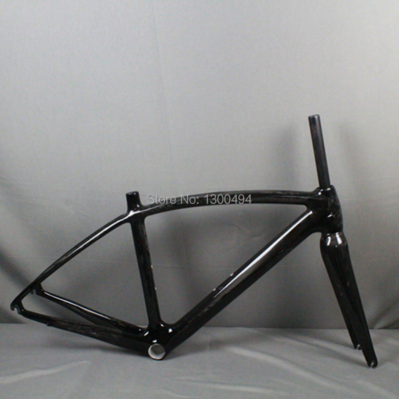 Carbon Road FrameBeautiful Design For Road Bike 700C Full Carbon Fiber Road Bike Frame + Bike Fork+hanger KQ-RB70