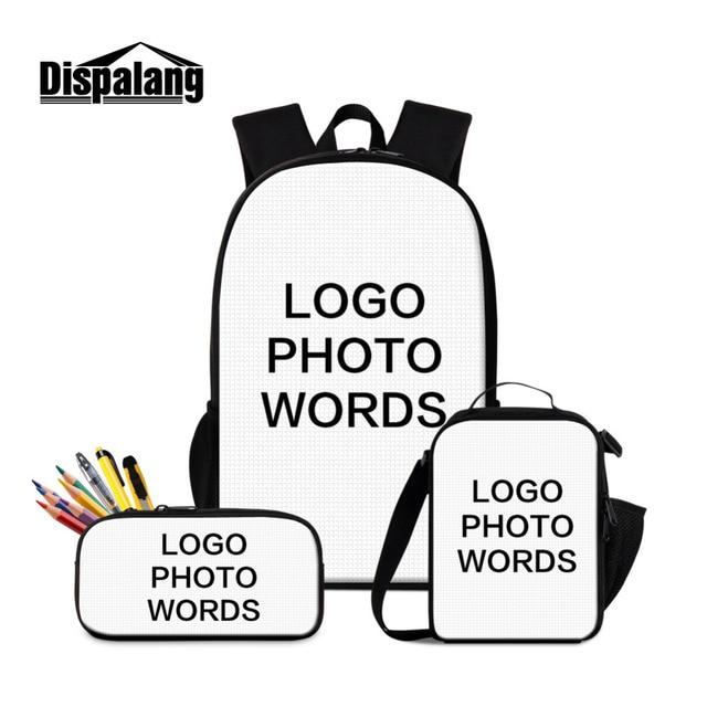 Dispalang Sets Backpack Matryoshka Women's School Bag Girls Students Pencil Book Bag For Teenager Cooler Bag Satchel Mochila