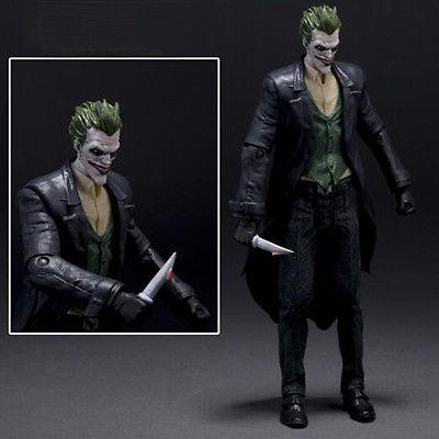 Comics Arkham Asylum Batman Series ARKHAM ORIGINS JOKER  Statue Action Figure neca dc comics batman arkham origins super hero 1 4 scale action figure