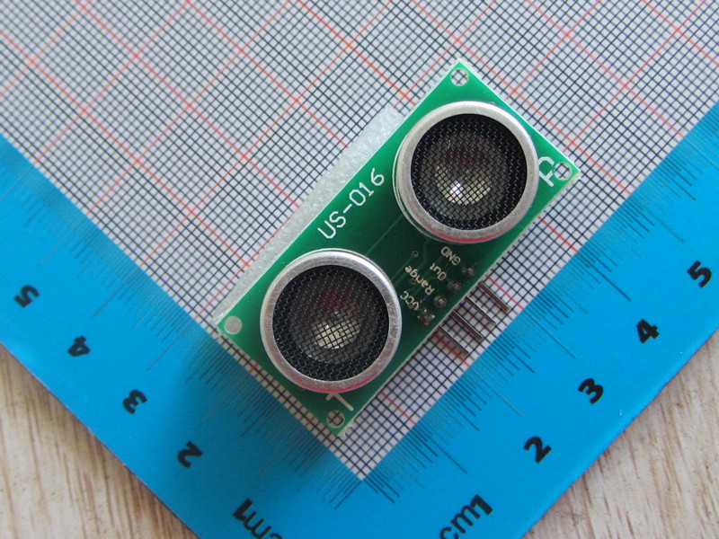 2pc High Precision US-016 Analog Voltage Output Double Range Analog Ultrasonic Ranging Module DC-5V