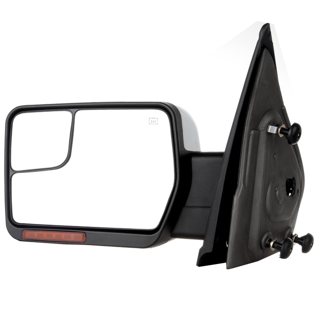 Eccpp Chrome Left Side View Mirror Heating For   Ford F  Pickup