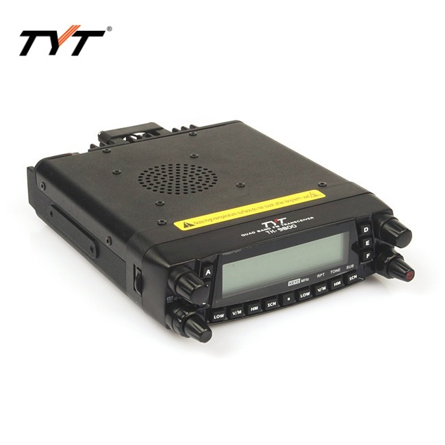 Image 3 - HOTTEST!!!TYT TH 9800 long distance car radio mobile walkie talkie 100KM Coverage VV,VU,UU Quad band Two way radio Repeater-in Walkie Talkie from Cellphones & Telecommunications