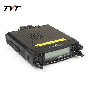 Image 3 - Mais quente!!! tyt TH 9800 longa distância rádio do carro móvel walkie talkie 100 km cobertura vv, vu, uu quad band two way repetidor de rádio