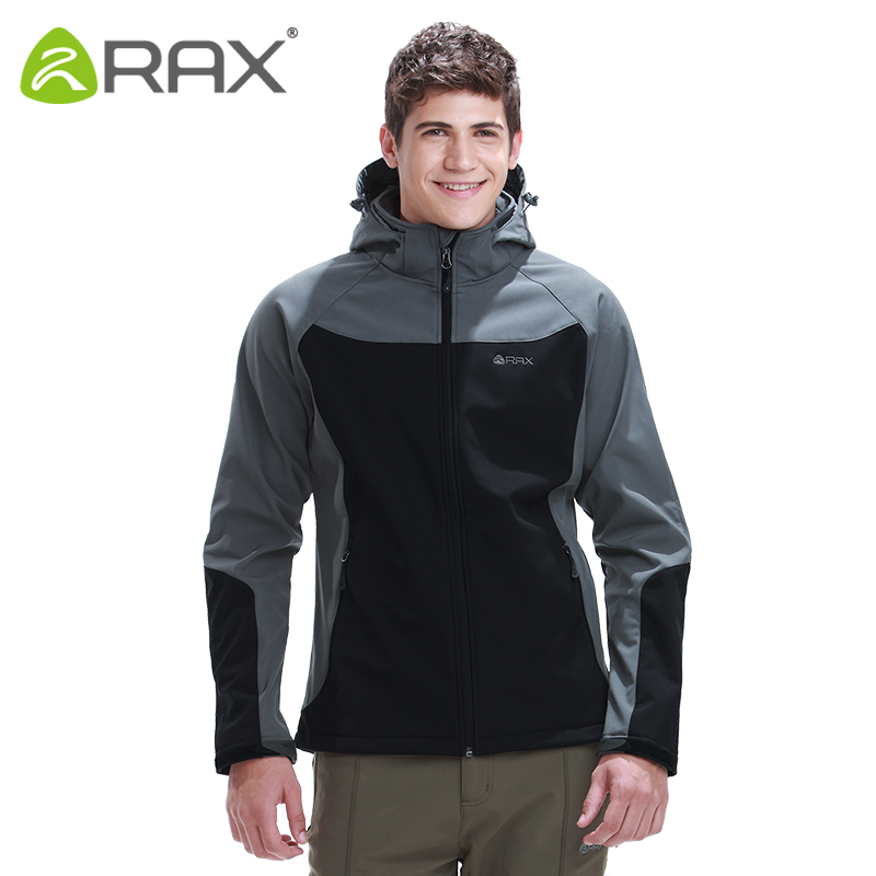 Rax Outdoor Waterproof Softshell Men Outdoor Warm Windproof ...