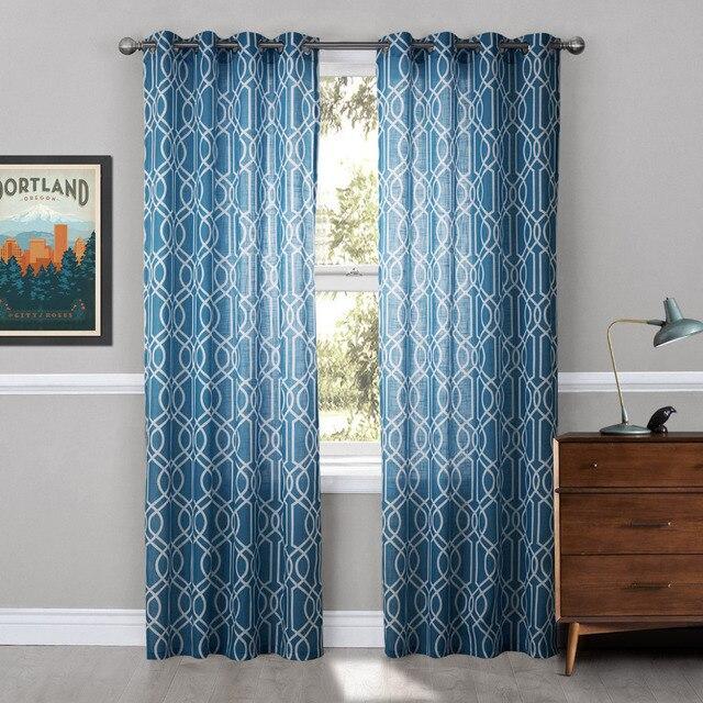 Un par de tul pura cortinas para la sala 2017 de la raya for Cortinas de castorama pura