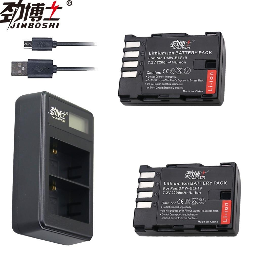 Digital Batterien Dual Usb Ladegerät Für Panasonic Lumix Gh3 Gh4 Gh5 Gesundheit Effektiv StäRken Freundschaftlich Hot 2 Pcs 2200 Mah Dmw-blf19e Dmw-blf19 Kamera Batterie Dmw Blf19 Blf19 Blf19e