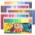 150 farben Weiche Holz Aquarell Bleistifte Wasser Löslich Farbe Bleistifte Set Für Lapis De Cor Malerei Skizze Zeichnung Schule Kunst
