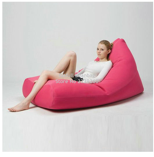 Cover Only No Filler Pink Outdoor Sofa Bean Bag Chair Good For Your Neck Support External And Living Room Furniture Seat In Sofas From