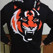 """Бодибилдинг одежда тигр Муай Тай ММА Муай Тай боксерская рубашка с длинным рукавом """"Signature"""" серия"""