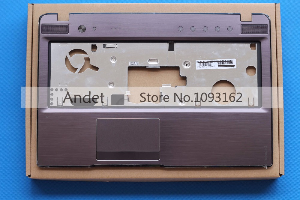 New Original Lenovo Z570 Z575 Palmrest Upper Case Keyboard Bezel Cover Touchpad 60.4M437.003 31049313