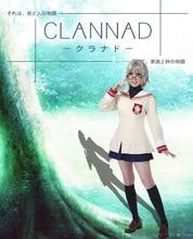 Envío Gratis Clannad Sakagami Tomoyo Hikarizaka Privado de Alto Grado 2 de La Escuela de La Escuela Uniforme de Cosplay del Anime
