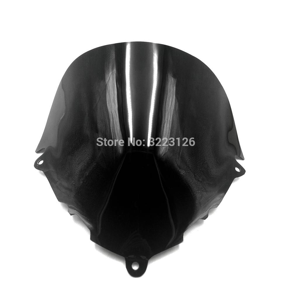 For Suzuki GSX 600F GSX 750F Katana 600 750 F GSX600F GSX750F gsx 600f 750f 1998-2008 black Windshield WindScreen front glass