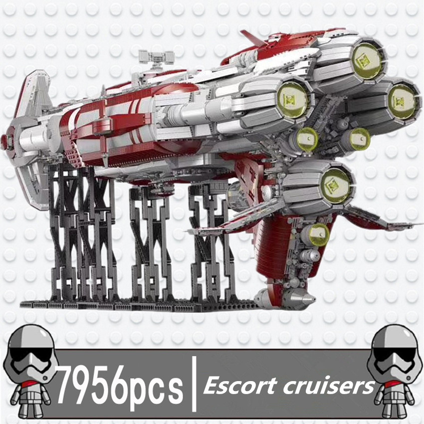 Lepin compatible 05079 Star Wars MOC old republic escort cruiser creative assembly puzzle toy peavey escort 6000