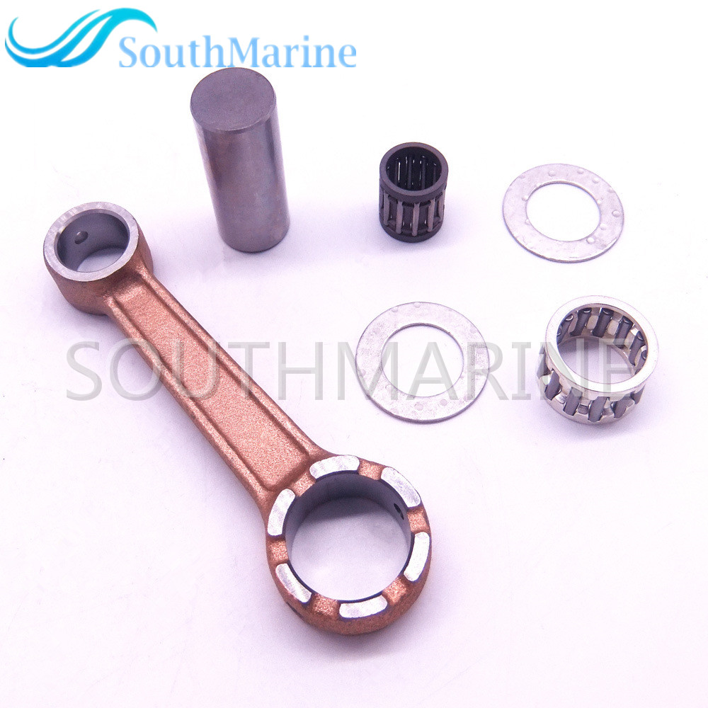Boat Engine 350-00040-0 350-00040-1 350000400 350000401 Connecting Rod Kit For Tohatsu Nissan 9.9HP 15HP 18HP 2-stroke Outboard