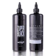 NEW 1PCS Large Bottle 360ml ZUPER BLACK Tattoo Ink 12oz