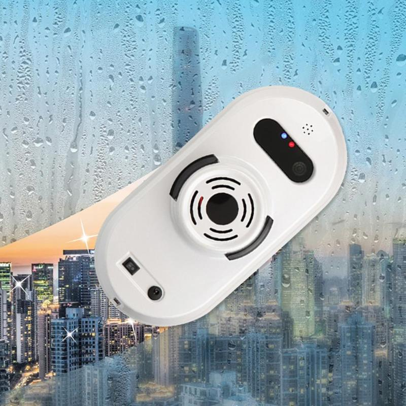 Robot de nettoyage de vitres Auto nettoyeur de vitres Anti-chute aspirateur de vitres télécommande Robot de nettoyage de verre prise EU 4 Modes