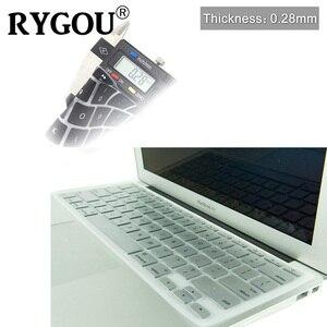 Image 5 - Корейская и английская накладка на клавиатуру с американской раскладкой, силиконовый чехол для MacBook Air 11, 11,6 дюйма, A1465, A1370 искусственная кожа
