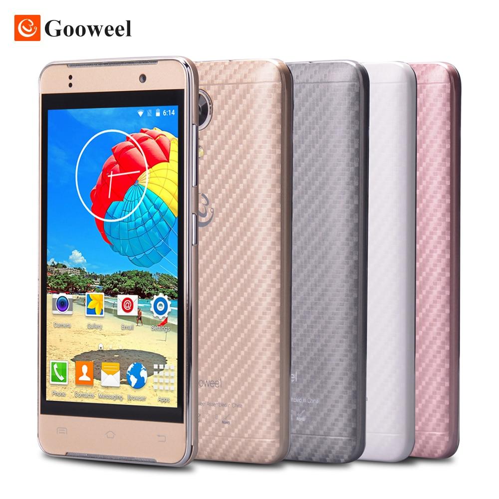 Original Gooweel M9mini Smartphone MTK6580 Quad core 4 5inch IPS screen 3G WCDMA GPS mobile cell