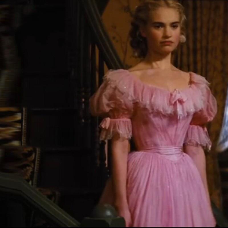Vintage Cinderella Mother S Cap Sleeve 1920s Pink Elegant