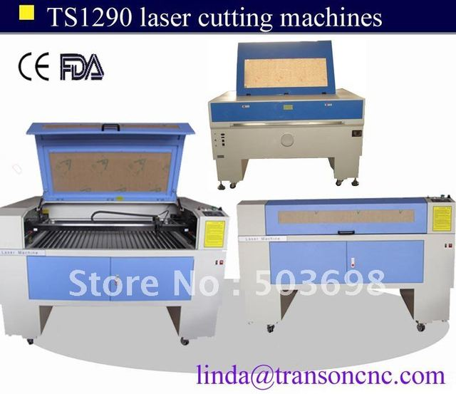 Free sea shipment Transon 100w CO2 Laser Cutting Machine TS1290