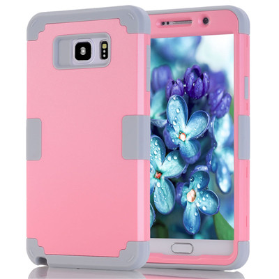 Shockproof Phone Case For Samsung Galaxy Note5 Case Durable PC+TPU 3 Layers Hybrid Full Body Protect Anti-Knock Phone Shell (14)