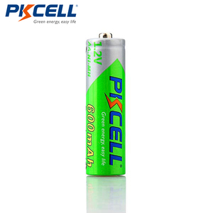 Image 3 - 8Pcs/2cards PKCELL AA Ni MH Pre charged Batteries 600mAh 1.2V AA NiMh LSD Rechargeable Battery for Remote Control