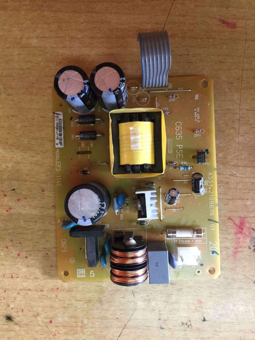 220v Power supply board Eps-114e c635 pse for Epson stylus pro 4800 4880 3800 printer 4mm 3mm uv printer tube uv ink tube printer uv tube for epson stylus pro 4800 4880 7800 9800 uv printer 50m