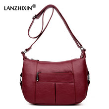 Lanzhixin Crossbody Bag For Women Casual Soft Women Bags Designer Shoulder Bags Casual Tote Ladies Handbags Women famous 6619S