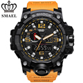 SMAEL Fashion Brand Watch Men New Style Digital Waterproof Sports Military Watches Men's Shock Analog Dual Display Quartz Watch