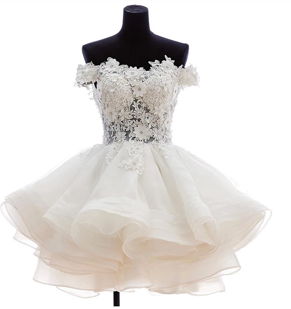Aliexpress.com : Buy 2015 Best Selling Short Puffy Prom Dresses ...
