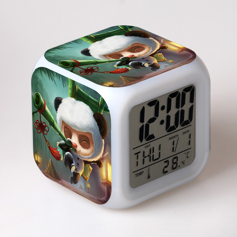 Best Alarm Clock For Kids Birthday Gift Ideas For Teens Light Animated Red  And Blue Alarm Clock Christmas Gift Ideas For Boys In Alarm Clocks From  Home ...