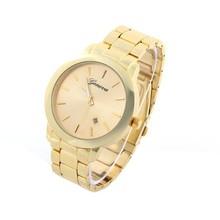 Geneva 2015 New Quartz Watch Women Dress Watches Stainless Steel Fashion Luxury Watches Calendar Relogio Relojes Clock Hours