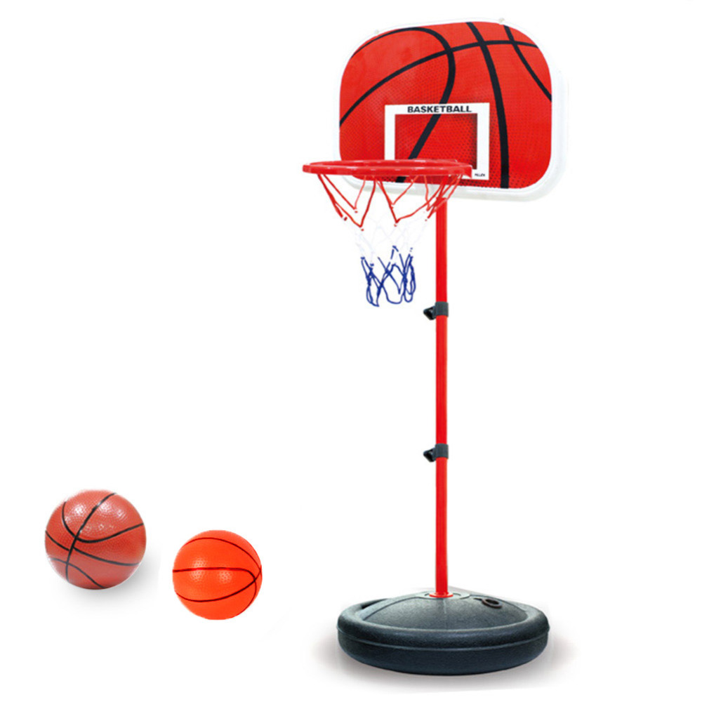 Pellor Adjustable Basketball Back Board Stand & Hoop Set For Children Kids Flexibly height adjustment (63-120 cm)